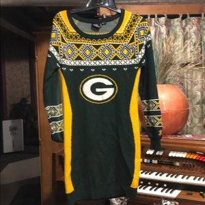 Green Bay Packers Christmas sweater